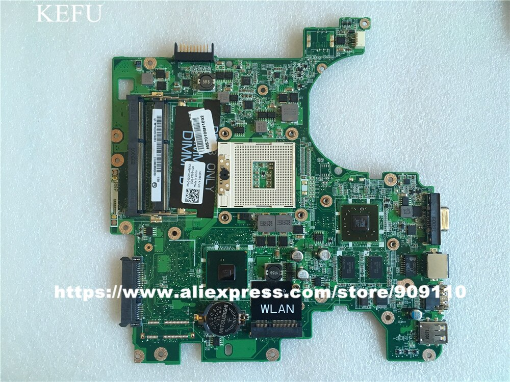 Yourui CN-04CCPK 04CCPK 4CCPK для материнской платы для DELL 1564 ноутбука Материнская плата HD 4300 512MB DA0UM3MB8E0 HM55 100% Протестировано