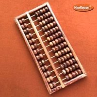 quality natural chinese hainan huanghuali scented rosewood abacus 13column soroban calculator home decor