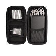 Coque rigide USB lecteur Flash organisateur de transport étui de stockage enregistrement stylo pochette sac clé de banque câble de batterie externe e-cigarette
