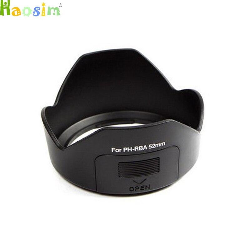 Para PH-RBA parasol de lente de 52MM para Pentax smc DA 18-55mm reemplazo de lente de F3.5-5.6