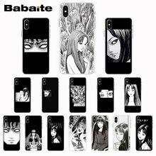 Babaite japonais horreur comique Tomie coque de téléphone pour iPhone X XS XR XSMax 6 6S 7 7plus 8 8plus Xs 5 5s 5c SE11 11pro 11promax
