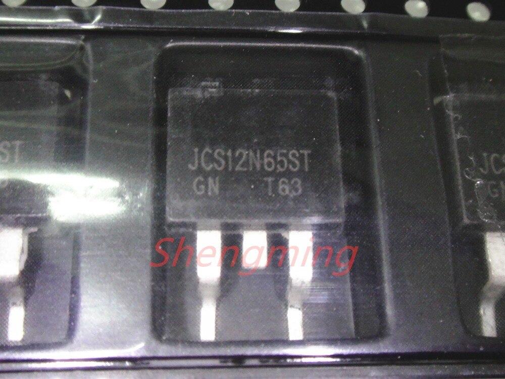 10 piezas JCS12N65ST a-263