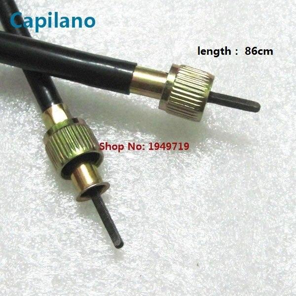 Línea de cable de velocímetro para motocicleta/scooter JOG100 ZY100 para Yamaha 100cc JOG ZY 100, piezas de freno de transmisión de medidor de velocidad