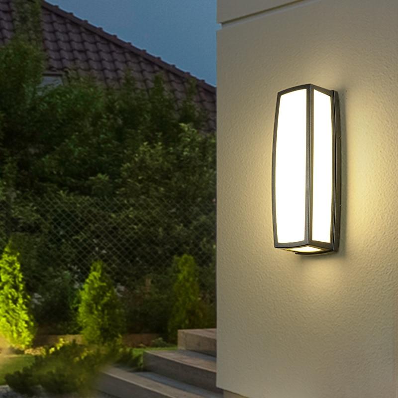 18W 24W Outdoor Waterproof LED Wall Lamp Garden Aisle Corridor Balcony Wall Light Villa Terrace Porch Exterior Wall Light enlarge