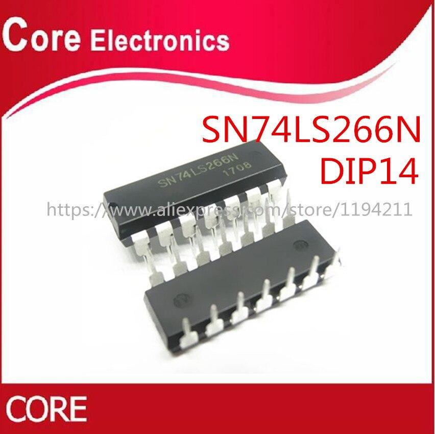 50PCS SN74LS266N 74LS266N HD74LS266P HD74LS266 74LS266 74LS266P DIP-14 NOVO