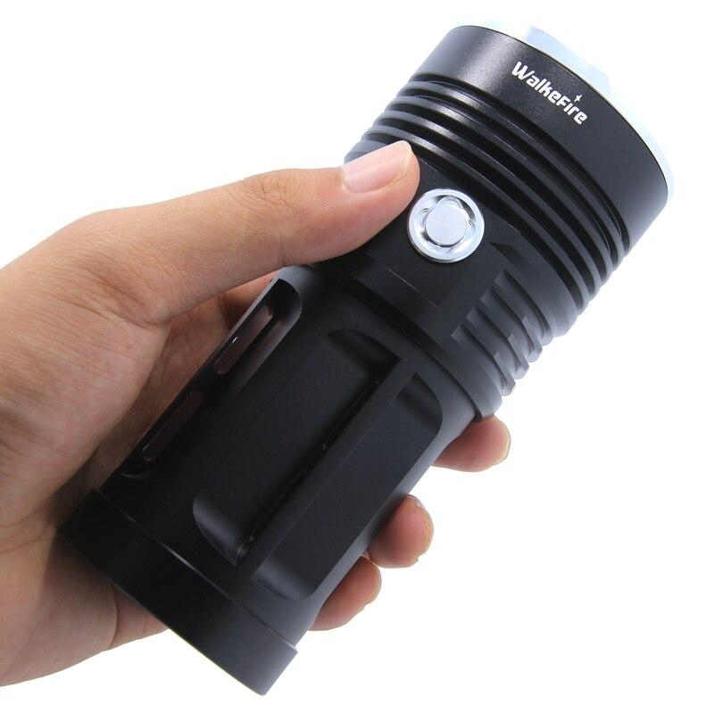 Envío Gratis, linterna 3T6 4T6 5T6 6T6 7T6 8T6 9T6 10T6 12 x XM-L T6, linterna LED, linterna de uso 4x18650