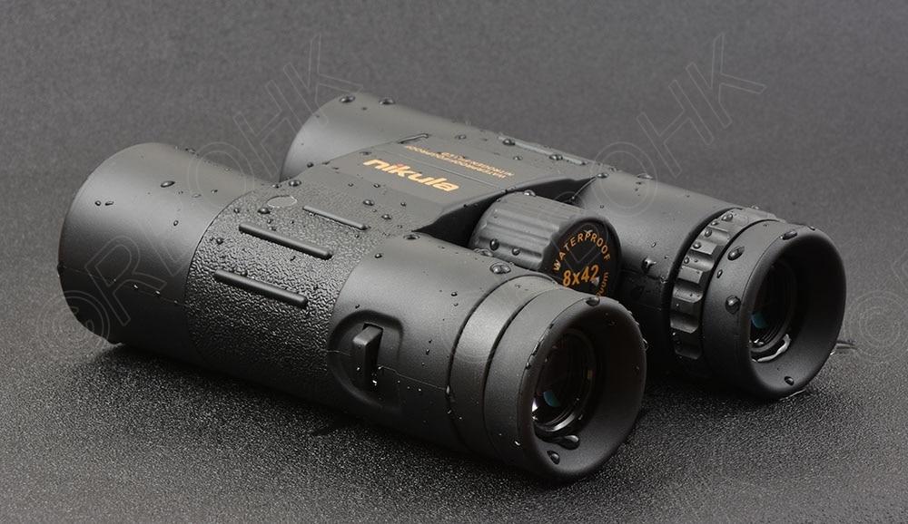 Caza tiro Nikula 8x42 alta definición impermeable binoculares telescopio BAK4 prisma multicapa de banda ancha de recubrimiento de vidrio M7078