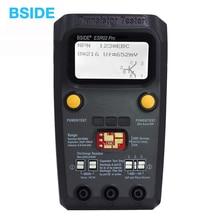 BSIDE ESR02 PRO Цифровой транзистор SMD компоненты тестер Диод Триод Емкость индуктивность мультиметр ESR метр