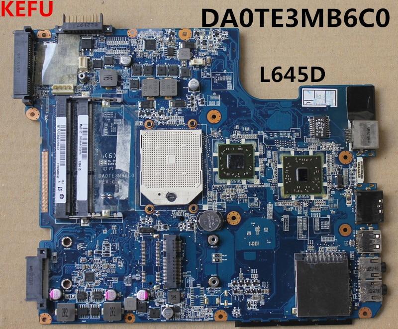 KEFU pour toshiba L640D L645D carte mère DA0TE3MB6D0 toutes les fonctions 100% entièrement testé