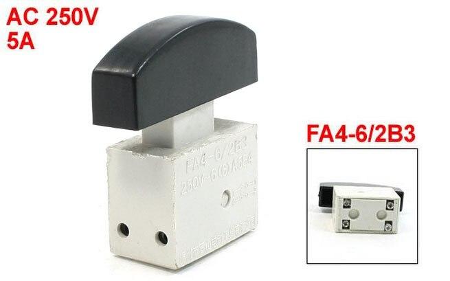 6A 250VAC 5E4 Manual Operation Lock FA2-4/1BEK Trigger Switch for Keyang 10A 2pcs