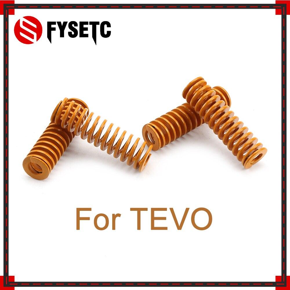 Piezas de impresora 3D de gran elasticidad, resorte importado de longitud 35mm OD 10mm para impresora 3D TEVO TarantulaSeries