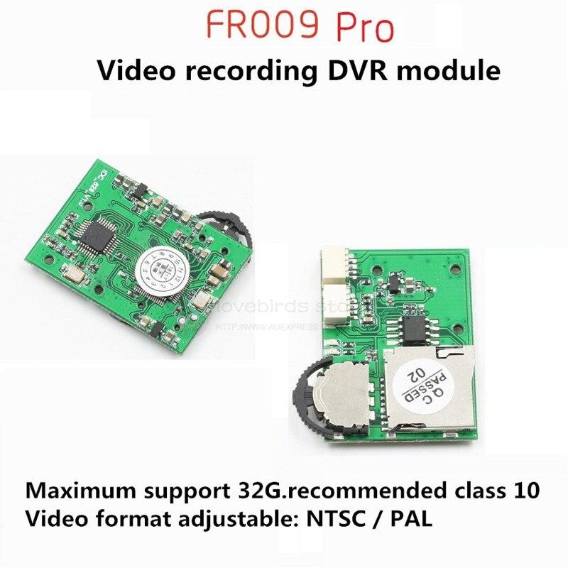 FR009 Pro módulo micro DVR módulo captura de vídeo para DIY FPV carreras cruzadas interior drone room quadcopter
