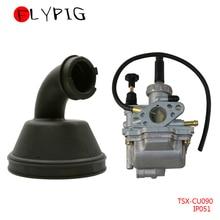 FLYPIG-bottes dadmission pour Suzuki   Carburateur, pour quad LT80 Quadsport, carburateur, ATV 1987-2006, nouveau