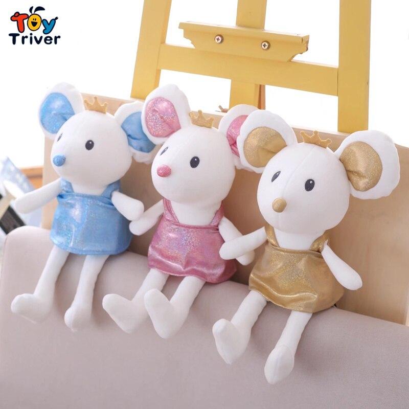 Princess Mouse Ballet Rat Mice Plush Toy Triver Stuffed Animal Doll Baby Kids Children Birthday Gift Home Decor Drop Shipping