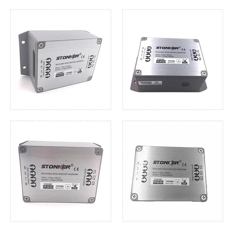 الصين 3 مراحل 380v إلى 220v محرك سيرفو محرك الإلكترونية محول التيار الكهربائي ل 4kw مضاعفات سائق نظام SVC-040-A