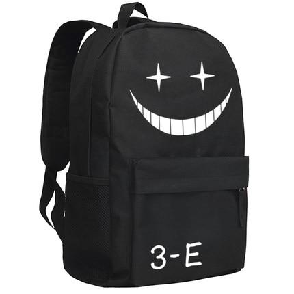 Ansatsu Kyoushitsu Cosplay Backpack Anime Korosensei Oxford School Bag Unisex