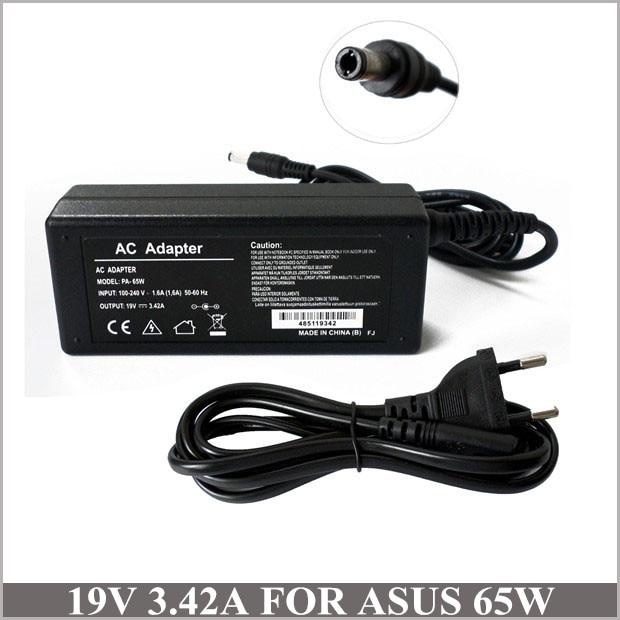 Adaptador de CA de 65W cargador de cargador portátil para Notebook Asus X301A-RX003W X301A-RX171H S550CB-CJ068H F502CA-XX017H F502CA-EB91