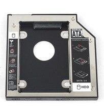 WZSM новый 9,5 мм SATA 2nd SSD HDD Caddy для DELL Latitude E5440 E5540 E6440 E6540 жесткий диск Caddy Бесплатная доставка