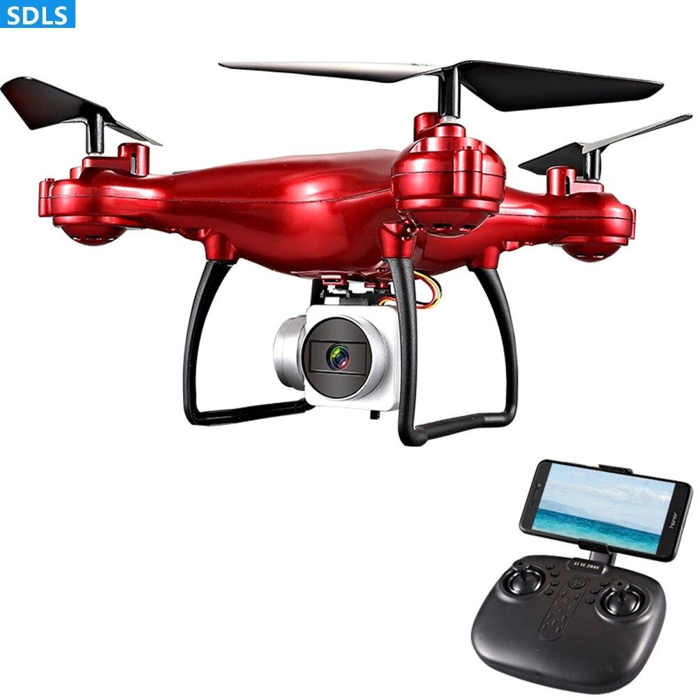 Máximo a 25 minutos de juego 2,4G RC Drones cuadricóptero helicóptero 1080P WIFI FPV HD cámara fija altura sosteniendo 3D vuelo de trayectoria rodante