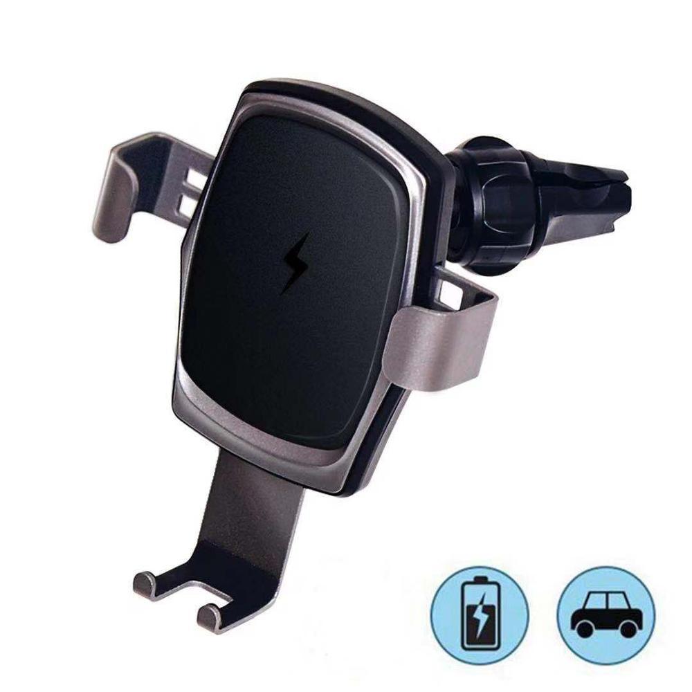 Cargador inalámbrico Qi para coche para iPhone Xs Max Xr X Samsung S10 S9 para xiaomi huawei soporte de teléfono rápido infrarrojo inteligente