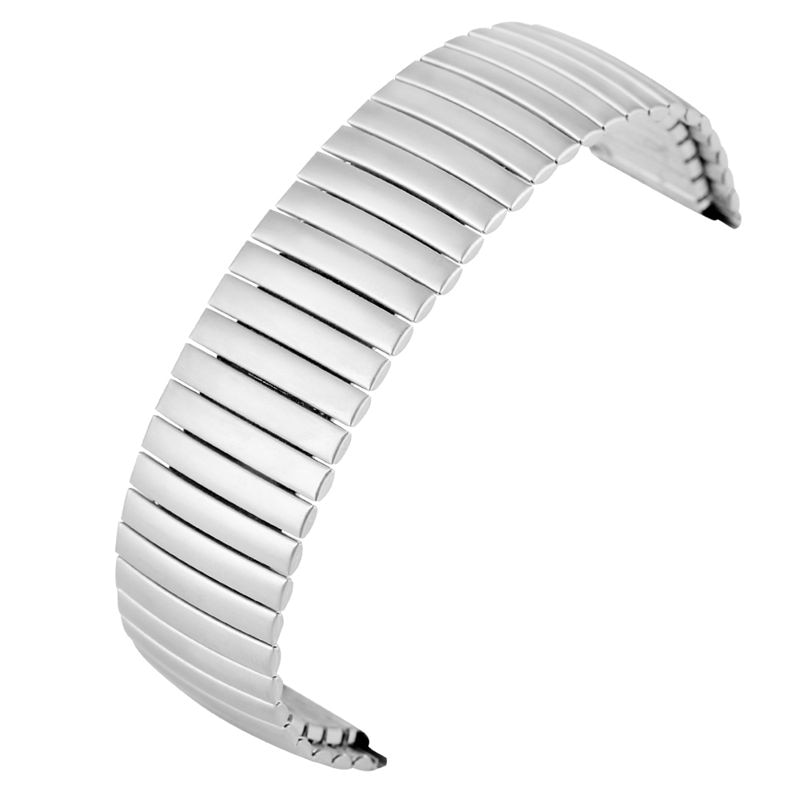 Correa de reloj de longitud extensible ninguno hebilla de repuesto de acero inoxidable correa de relojes de pulsera 20MM 22MM mate brillante para Nikon