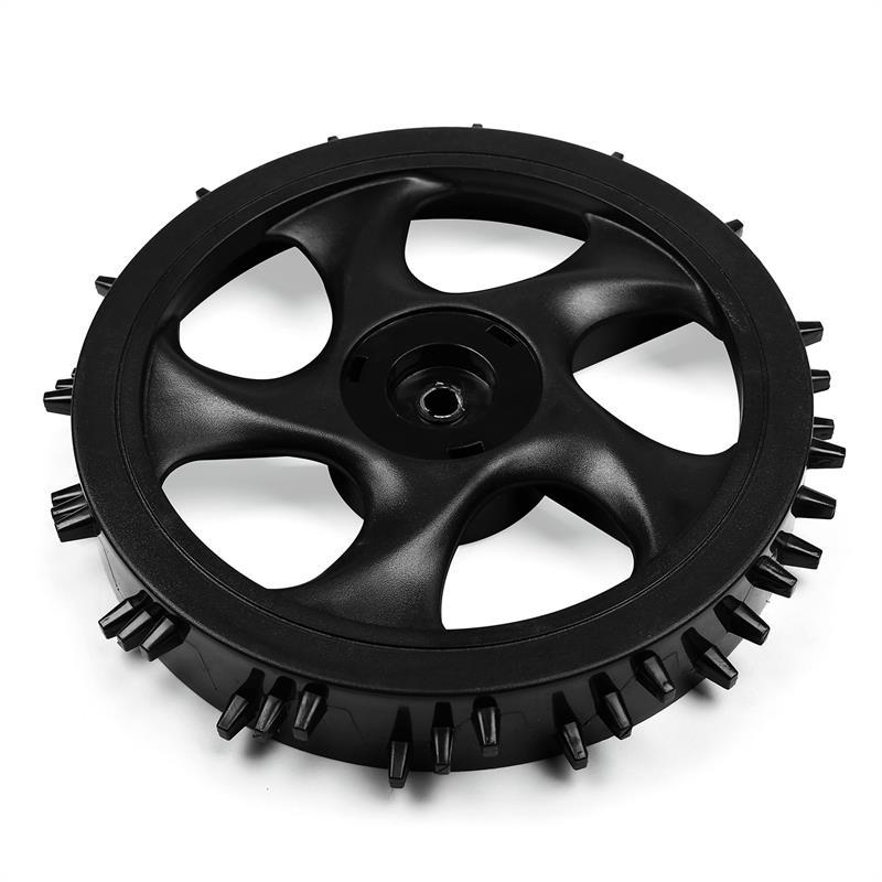 Роботизированная газонокосилка с задним колесом для замены газонокосилки 1