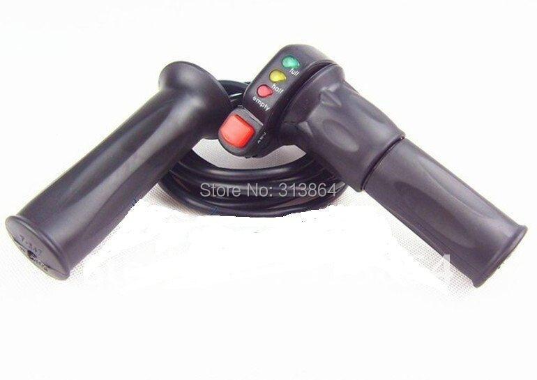Alta qualidade wuxing marca 48 v e-bike meia torção do acelerador com indicador de bateria + interruptor de controle de cruzeiro