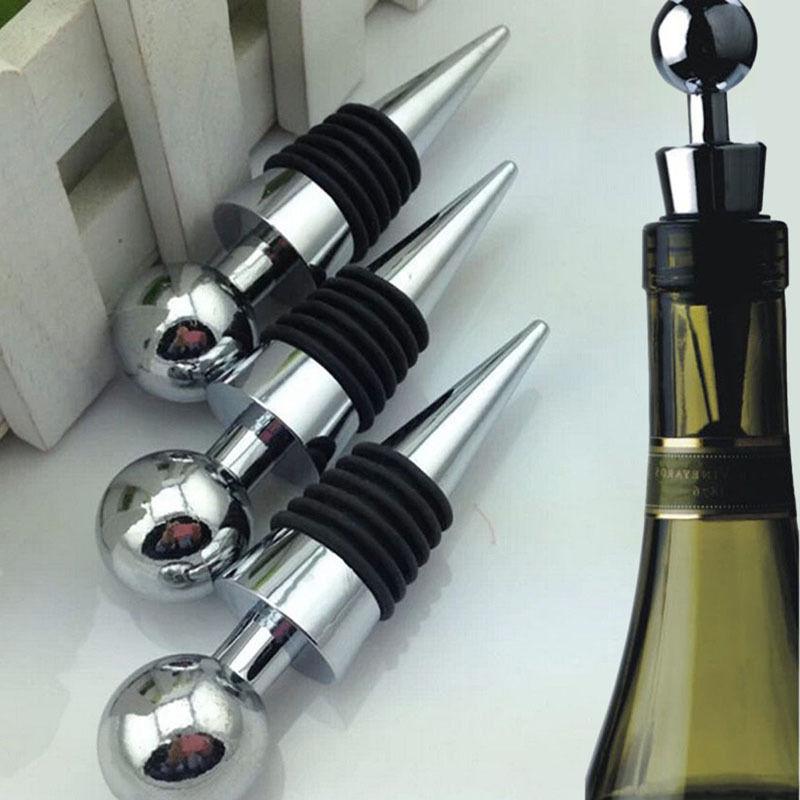 Nuevo diseño 1 pieza tapón de botella de plástico Almacenamiento de vino tapón de rosca sellado al vacío reutilizable Venta caliente