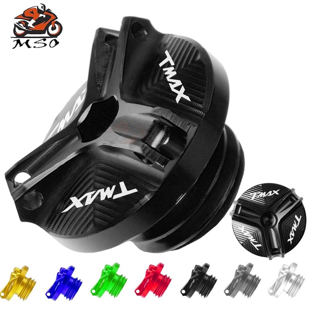 Accesorios para motocicleta, tapón de drenaje de aceite para motor M20 * 2,5, tapa de tapón de copa de tuerca para yamaha t-max 530 500 TMAX mt07 mt03 tmax