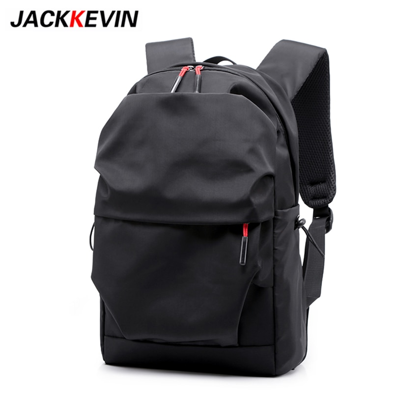 2019 Men Backpack for 15.6 Inches Laptop Back Pack New Stundet Backpacks Large Capacity Water Repellent Pleated Casual Style Bag