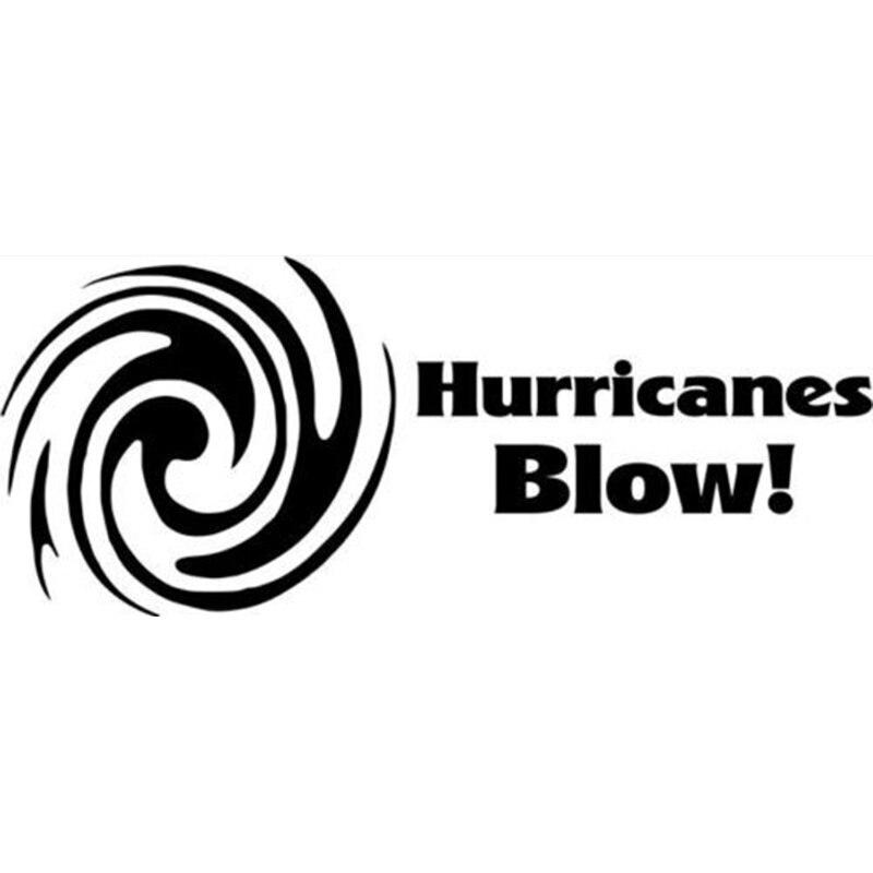 Calcomanía de la personalidad de la moda de Hurricanes Blow, pegatina creativa para coche, ventana de camión, pegatinas de coche con estilo
