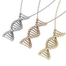 Collier adn, bijoux adn, collier Science, collier biologie, pendentif adn, breloque adn, collier molécule