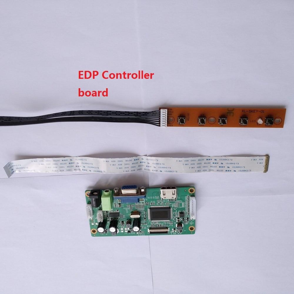 """Para B156HAN03.0 LED EDP HDMI 1920x1080 KIT VGA 15,6 """"40Pin controlador placa pantalla monitor LCD DIY"""