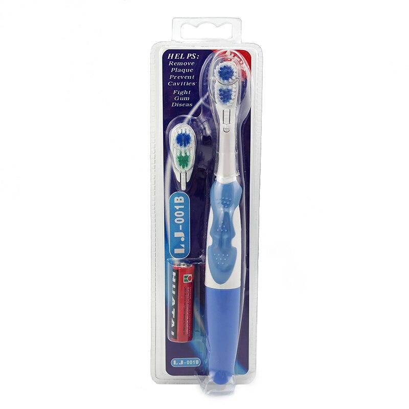 Cepillo de dientes eléctrico para cuidado dental, cepillos de dientes electrónicos masajeadores, cepillo dental vibratorio ultrasónico sin batería