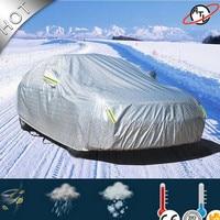ATL D5k aluminum film with cotton Car cover Four seasons car cover Rain Snow Hail Dust Proof Car-Cover