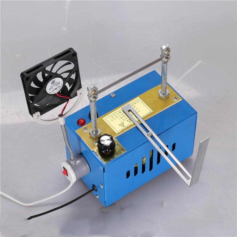 Tempering Hot Cutting Machine Ribbon Lace Melt Magic Sticker Trademark Marking Machine