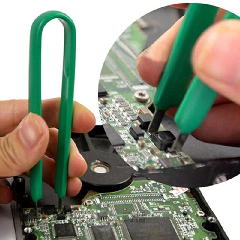 Nuevo Kit DIY de piezas de protección IC Extractor CPU tirador de PLCC Clip Extractor herramienta partes