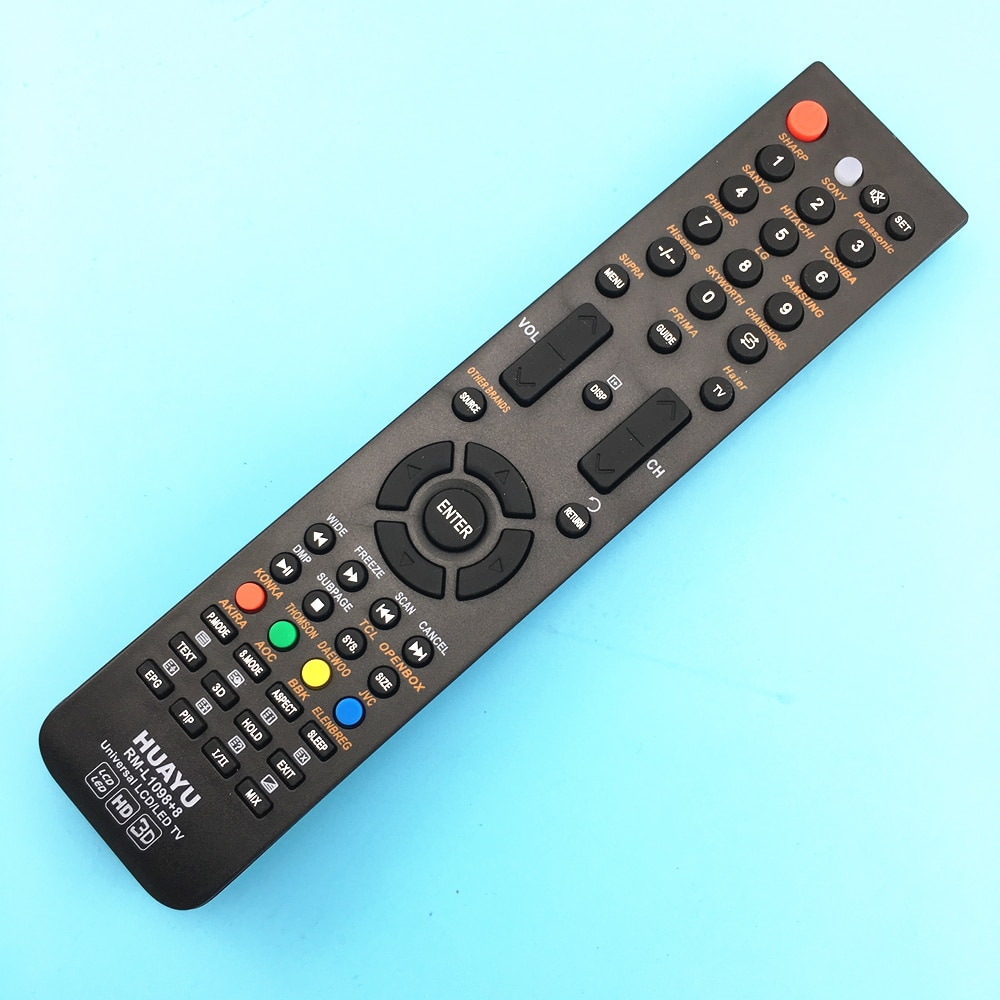 Control remoto de TV Control para Shivaki k77 k78 Supra TV RC-gk22g1 H-lcd3210 Led321lc Skyprime HD rc21b-1219 JH-11370 Huayu