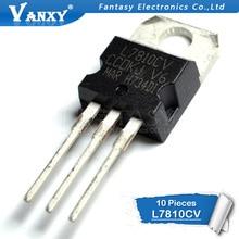 10PCS L7810CV TO220 L7810 ZU-220 7810 LM7810 MC7810 7810CV neue spannung regler IC