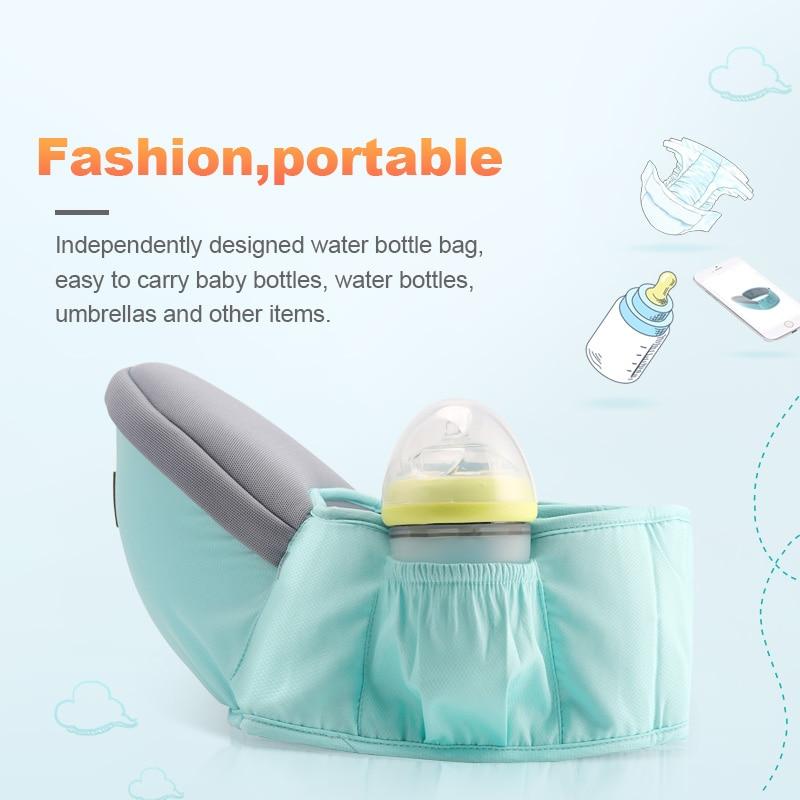 Baby Carrier Waist Stool Walkers Baby Sling Hold Waist Belt Backpack Hipseat Belt Kids Adjustable Infant Hip Seat For Droship