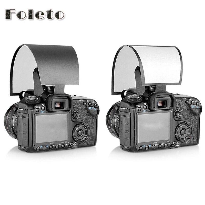 Difusor de Flash emergente de pantalla suave Universal para cámara Nikon Canon Pentax Olympus difusor suave de plástico difusor suave 10D 20D