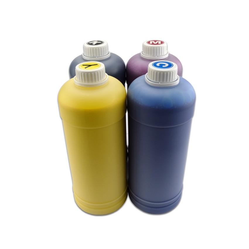 4 cor * 1000 ml Kit De Recarga de Tinta Pigmento Para Epson TM-C3500 TM-C3510 TM-C3520 Impressão para Epson C3500 C3510 C3520 impressoras de etiquetas