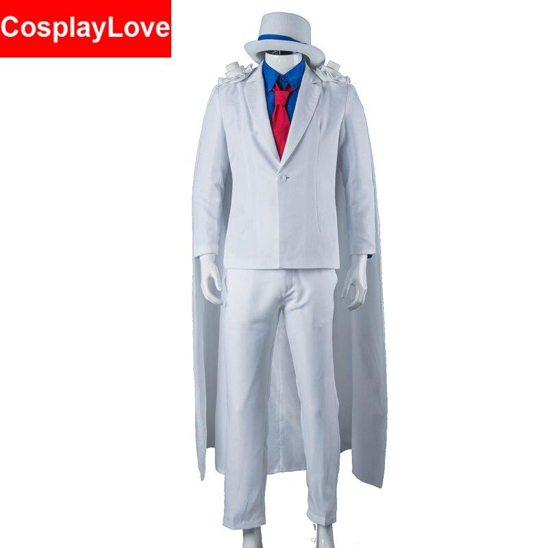 Kid the Phantom Thief Kaitou Kiddo KID Cosplay Costume Stock Cusotm Made For Halloween Christmas Party CosplayLove
