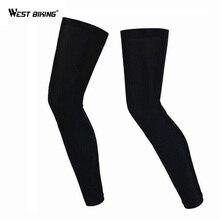 Chauffe-jambes protection UV pour la moto, hommes et femmes chauffe-jambes avec protection UV pour la bicyclette, Ciclismo, automne