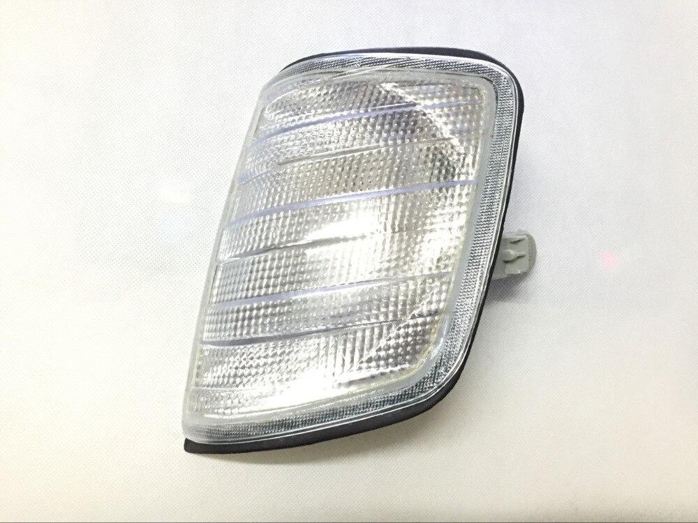 Blanco luz de curva izquierda para Mercedes W124 E260 E280 E300 E320...