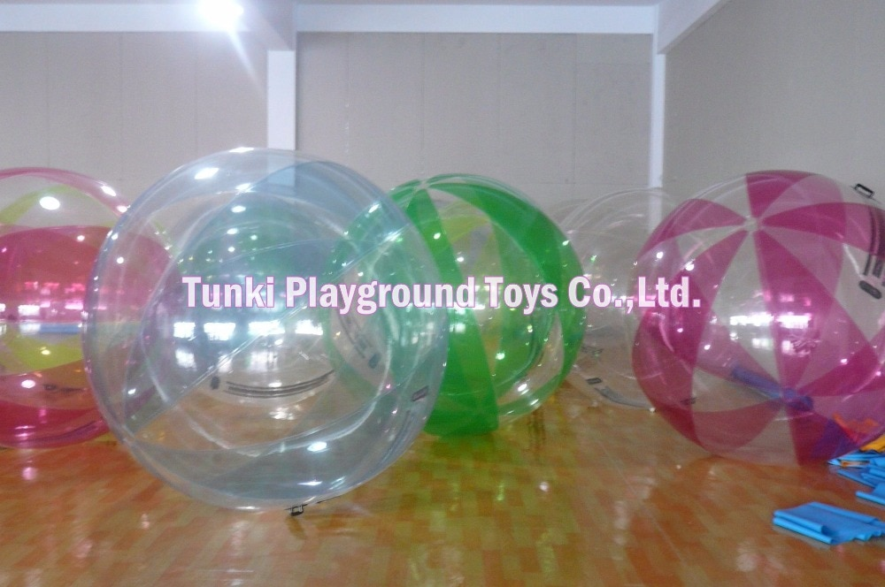 Burbujas de agua; Globo para caminar por aire; bola inflable inflada