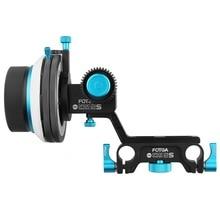 FOTGA DP500-IIS Dampen A/B Hard Stop Follow Focus for BMCC F55 5DIII NEX-FS700 PXW-FS7 C100 C300 F3 GH4 GH5 A7 A7III A7R GH5 GH6