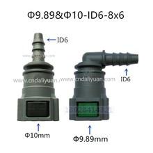 10mm ID6 auto Kraftstoff linie schnell stecker benzin filter kraftstoff filter für Peugeot und Citroen 5 stücke viel