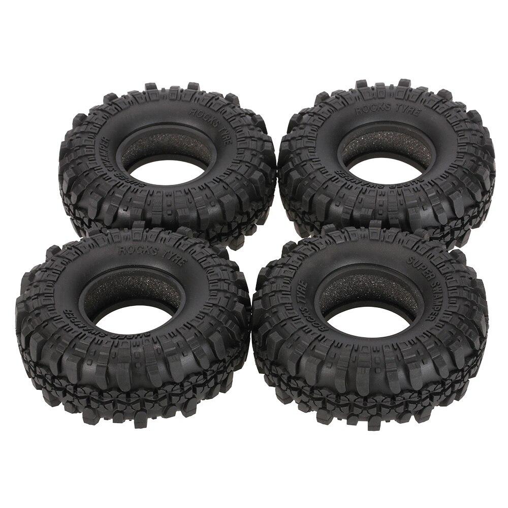 New 2020 Summer 4Pcs AUSTAR AX-4020 1.9 Inch 110mm 1/10 Rock Crawler Tires for D90 SCX10 AXIAL RC4WD TF2 RC Car enlarge