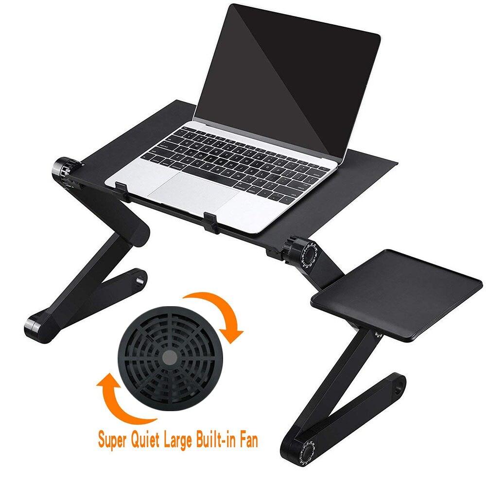 Портативный складной регулируемый складной стол для ноутбука, настольный компьютер, подставка для ноутбука, подставка для дивана-кровати с...
